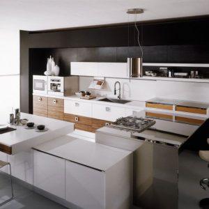 Как выбрать кухню правильно – дизайн, материалы, форма и цвет. Инструкция + 100 фото