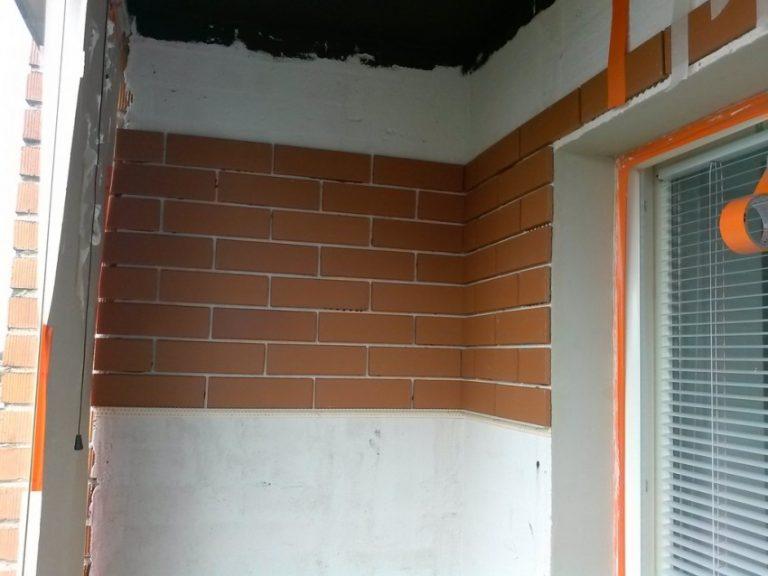 как покрасить кирпичную стену на балконе фото тогда, когда