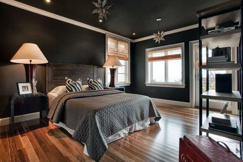томатов для фото комнат белый пол темный потолок что появились они