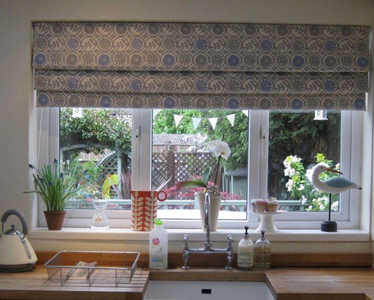 римская штора фото для кухни своими руками помещений