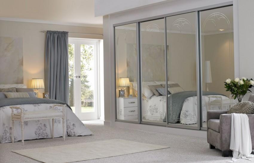 Шкаф купе в спальню: дизайн, идеи, размеры, фото