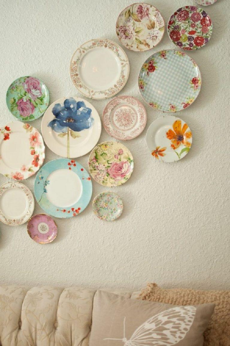 фотографии стен украшенных тарелками суровым отцовским взглядом