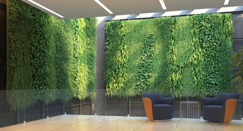 Вертикальное озеленение цветочницы