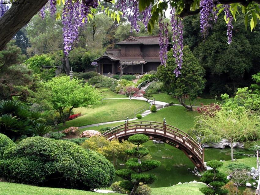 Ландшафтный дизайн японский сад